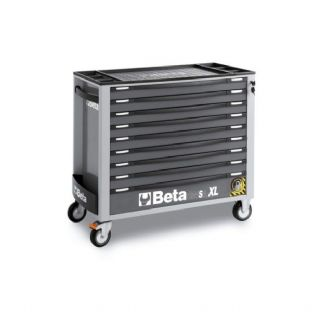 Beta C24SAXL/9-G Mobile Roller Cab With 9 Drawers (Grey)